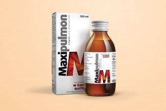 Maxipulmon, syrop na suchy kaszel, 120 ml