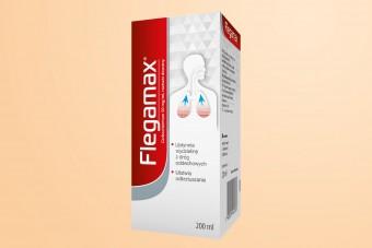 Flegamax, syrop na mokry kaszel, karbocysteina, 200 ml