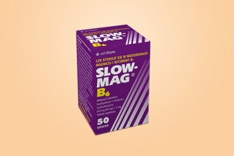 Slow-Mag B6, magnez + wit. B6 jako lek, 50 tabletek