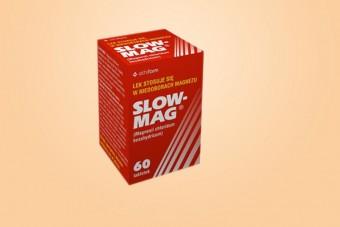 Slow-Mag, lek z magnezem, 60 tabletek
