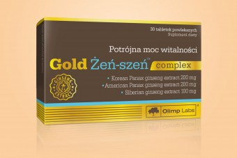 Gold Żeń-szeń Complex, 30 tabletek, Olimp