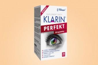 Klarin Perfekt, na oczy, 30 kapsułek, 20 mg luteiny