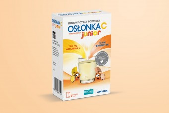 Osłonka C Junior, probiotyk w saszetkach, 7 sztuk