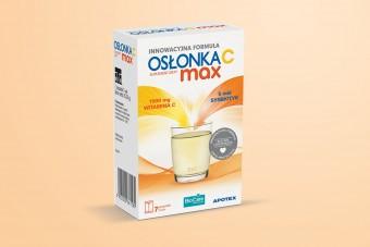 Osłonka C Max, probiotyk z witaminą C, 7 saszetek