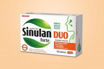 Sinulan Duo Forte, 60 tabletek, zatoki i odporność