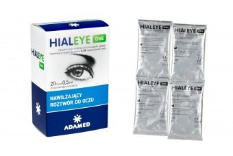 Hialeye One 0,2%, krople nawilżające, 20 minimsów