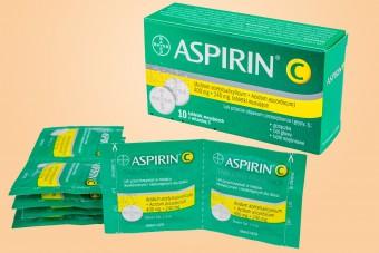 Aspirin C, 10 tabletek musujących