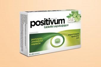 Positivum, tabletki uspokajające, 180 tabletek