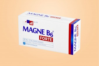 Magne B6 Forte, cytrynian magnezu 100 mg, 60 tabletek, magnez lek, podwójna dawka magnezu