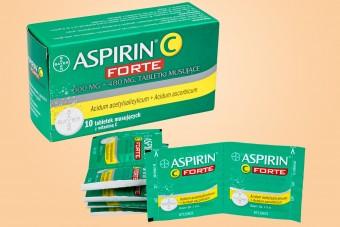 Aspirin C Forte, 10 tabletek musujących, na ból i gorączkę, aspiryna bayerowska max forte