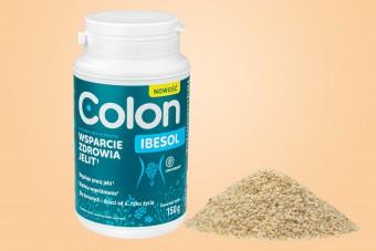 Colon IBESOL, na jelita, błonnik w proszku, 150 g, IBS