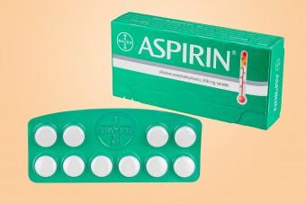 Aspirin 500 mg, Bayer, 10 tabletek, aspiryna bayerowska, aspiryna bajerowska