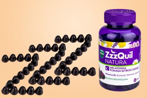 ZzzQuill, żelki melatoninowe, duże opakowanie, 60 sztuk