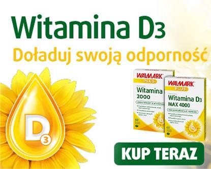 Witamina D3 Walmark Plus